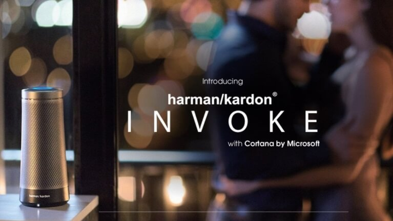 Microsoft Cortana搭載Harman Kardon Invoke イメージ