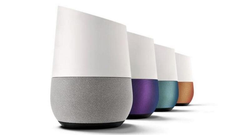 複数のGoogle Home イメージ