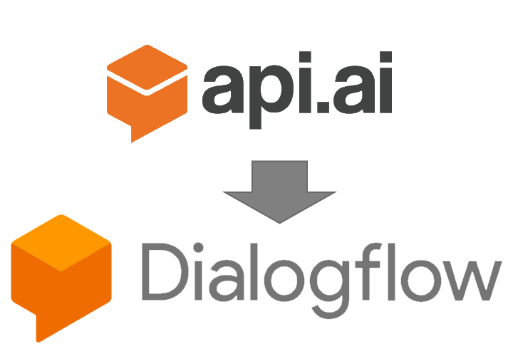 API.AIからDialogflowロゴ画像