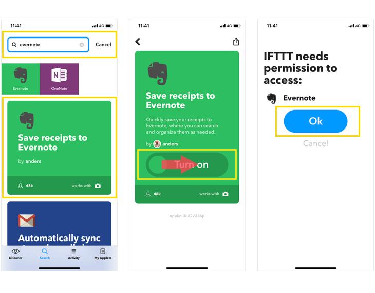 Google homeでIFTTTを使ってEvernoteにメモを取る方法