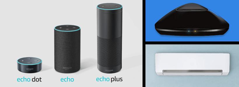 Amazon echoでエアコンをつける方法