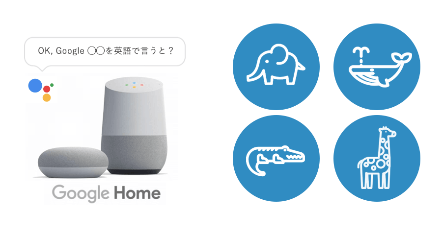 Google Homeの英単語翻訳の音声コマンド一覧