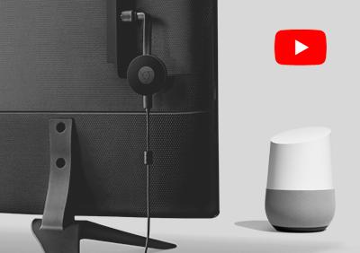 Google HomeでChromecastを使って動画再生がおすすめ!