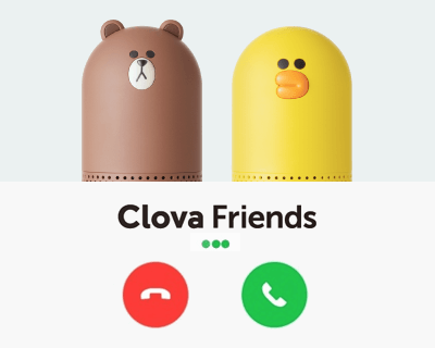 LINE Clova FriendsでLINE無料通話をかける方法