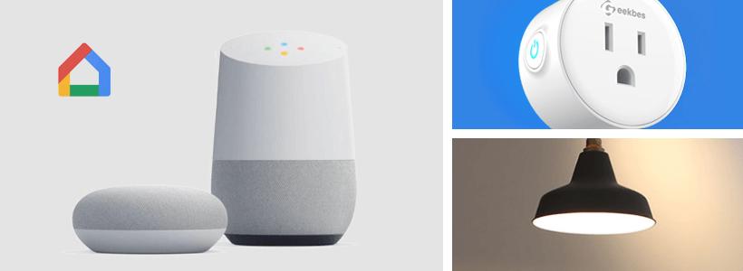 Google Homeで電気をつける方法