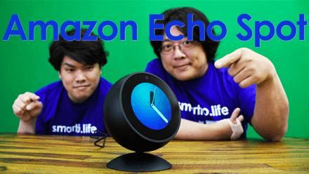 画面付きスマートスピーカーAmazon Echo Spotがついに日本上陸!気になるその機能とは!?