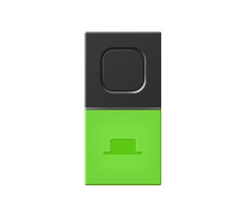 MESHブロック ボタンタグ