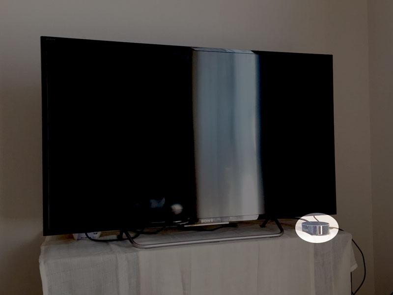 スマートスピーカー テレビ