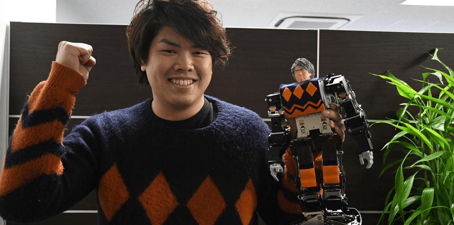 二足歩行バトルロボット