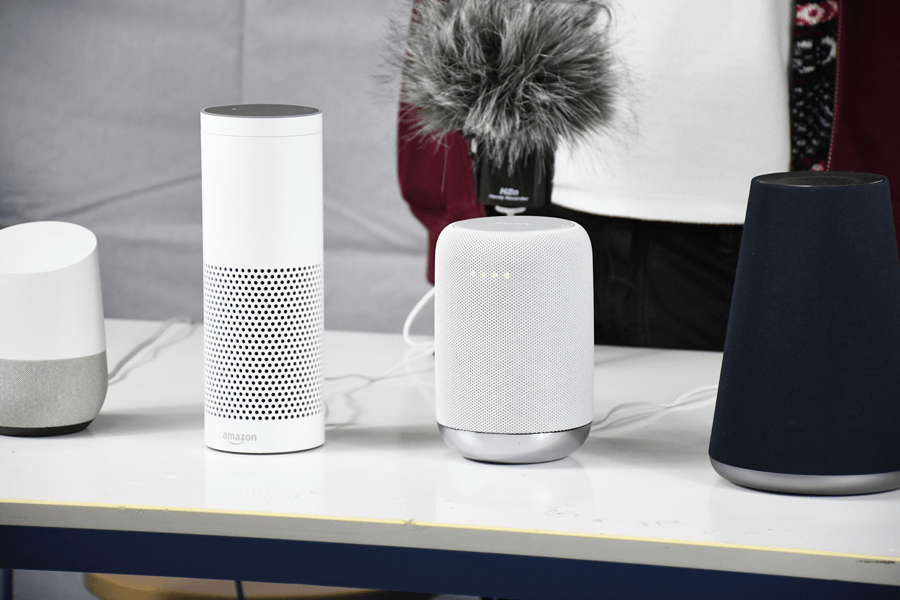 Amazon EchoかGoogle Home