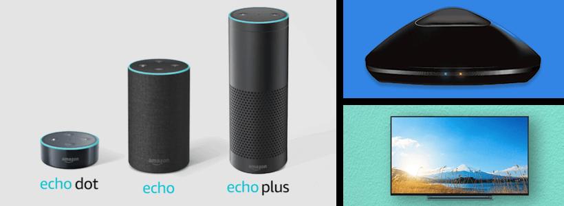 Amazon echoでテレビをつける方法