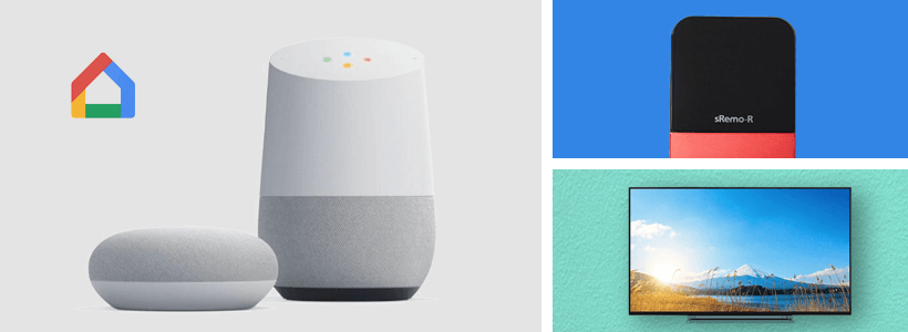 Google Homeでテレビをつける方法