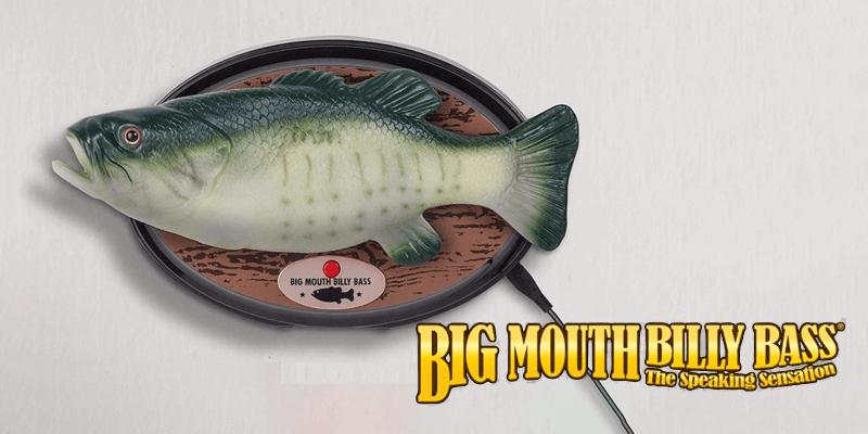 Alexa対応になったBig Mouth Billy Bass(ビッグマウス ビリーバス)