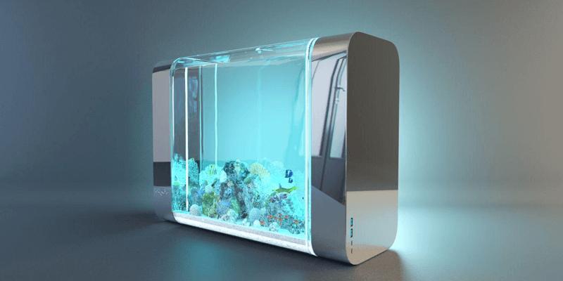 内蔵されたフルスペクトラムLEDで自然光が再現できる