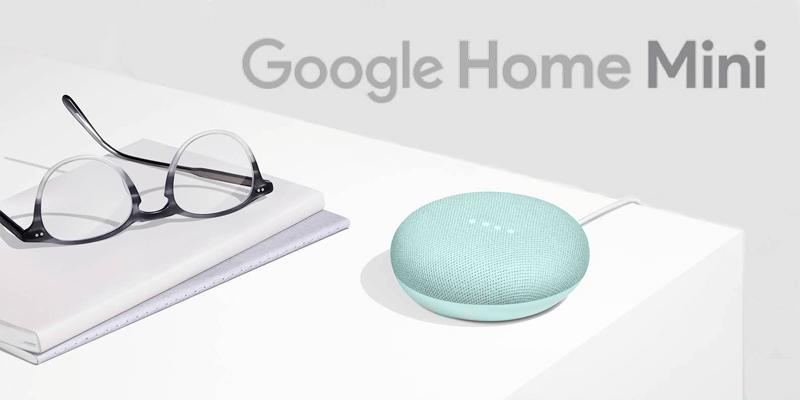 Google Home Miniの新色アクア