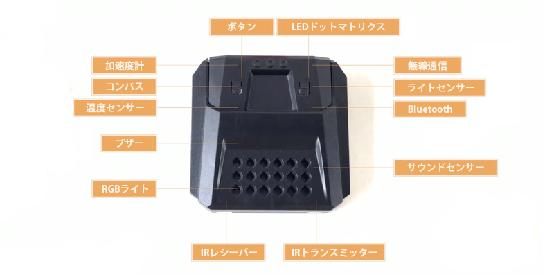 センサーでロボットの動作を制御