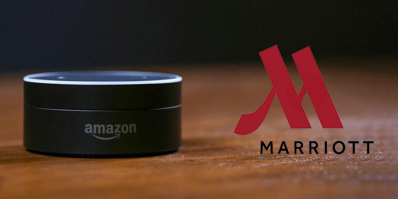 AmazonとMarriottとの提携では、各部屋にEcho Dotを設置
