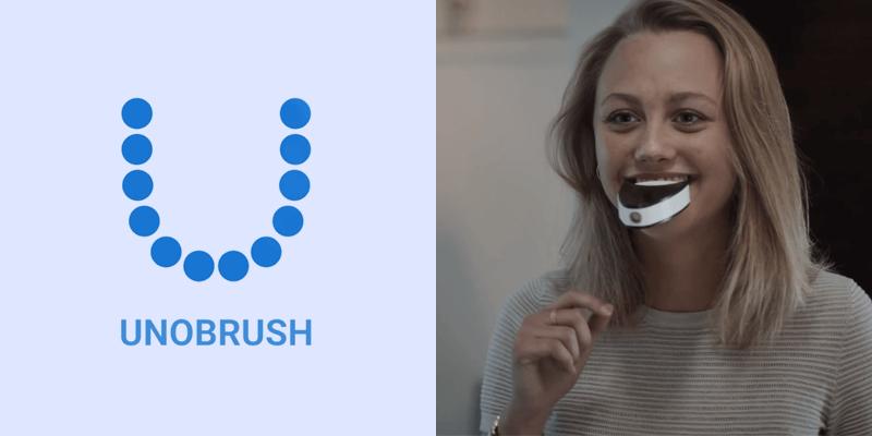 わずか6秒で歯磨きが完了する全自動スマート歯ブラシUNOBRUSH(ウノブラッシュ)