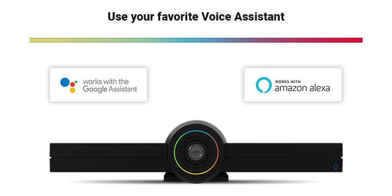 GoogleアシスタントやAlexaによる音声操作も可能