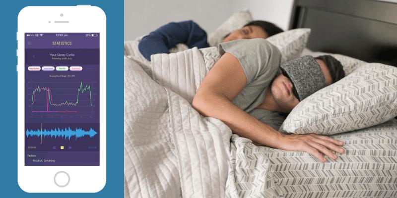 アプリで自身の眠りを把握できる