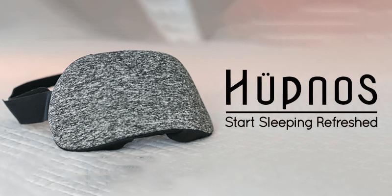 いびきを検出してくれる睡眠マスクHupnos(ハープノス)