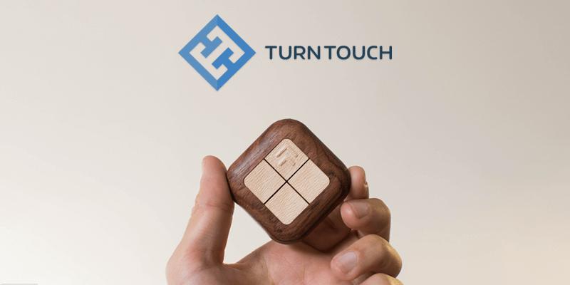 Bluetooth機器と連携できるリモコンTurn Touch(ターンタッチ)
