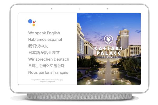 Googleアシスタント 通訳