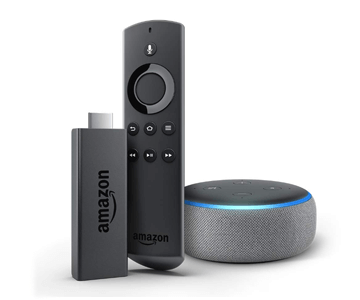 Echo Dot 3rd + Fire TV Stick