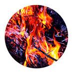 焚き火の音