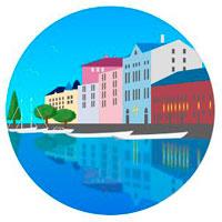 ヘルシンキの港の音